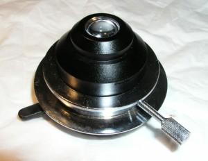Hellfeld Kondensor und Halterung für Novex-B Mikroskop